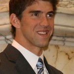 Michael Phelps – der Star-Olympionike in Anzug und mit Krawatte (2009)